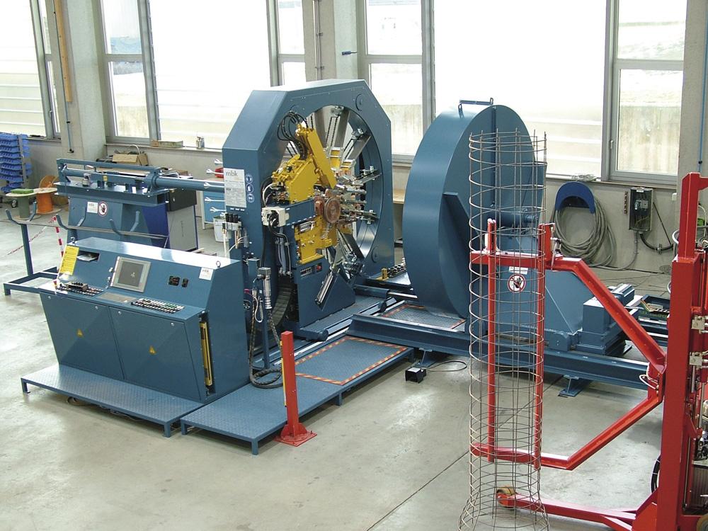 mbk Maschinenbau GmbH BSM Korbschweißmaschine