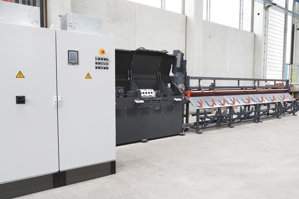 mbk Maschinenbau GmbH DRA Drahtricht- und Schneideanlage
