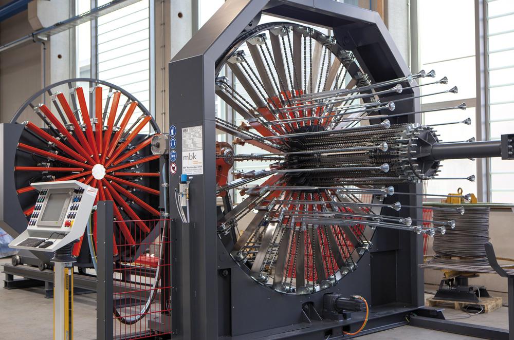 mbk Maschinenbau GmbH ESM Korbschweißmaschine