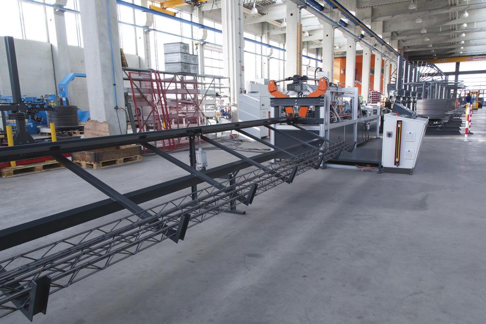 mbk Maschinenbau GmbH GTM Gitterträgerschweißmaschine
