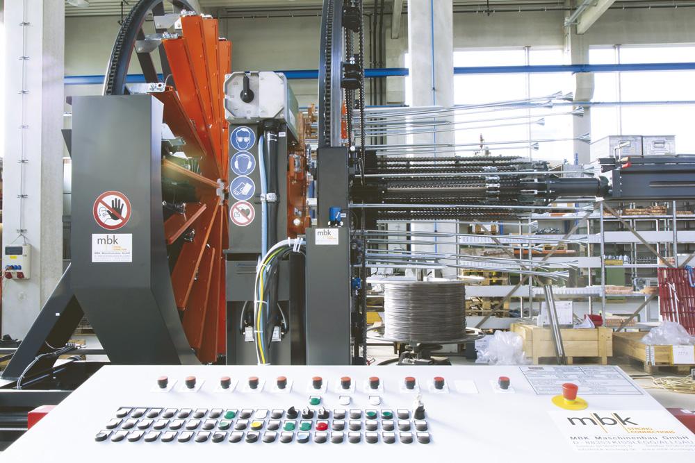 mbk Maschinenbau GmbH ISM Korbschweißmaschine