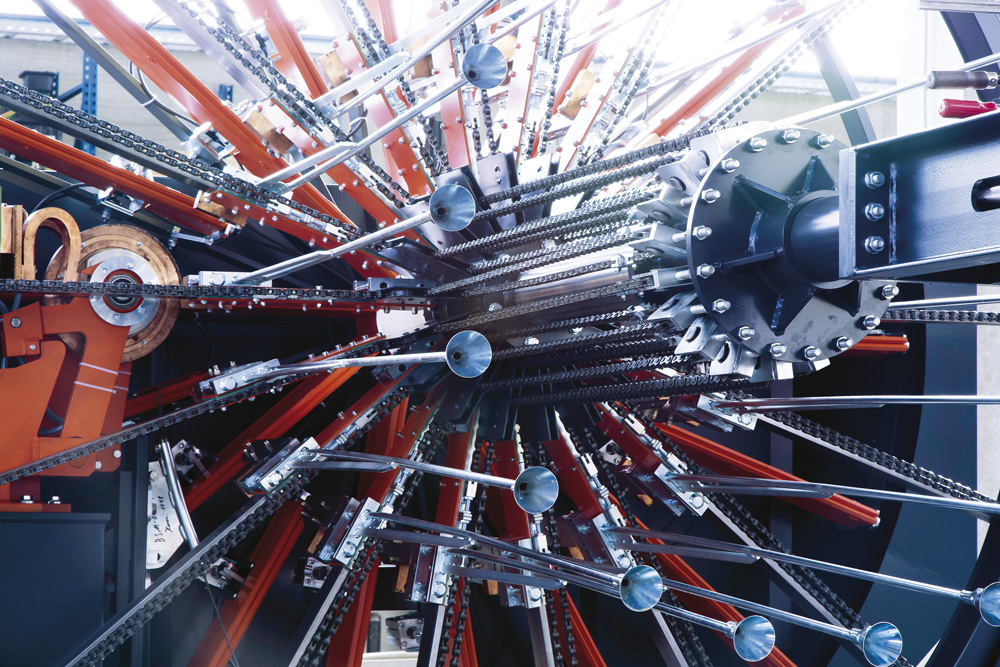 mbk Maschinenbau GmbH ISM Korbschweißmaschine Korb