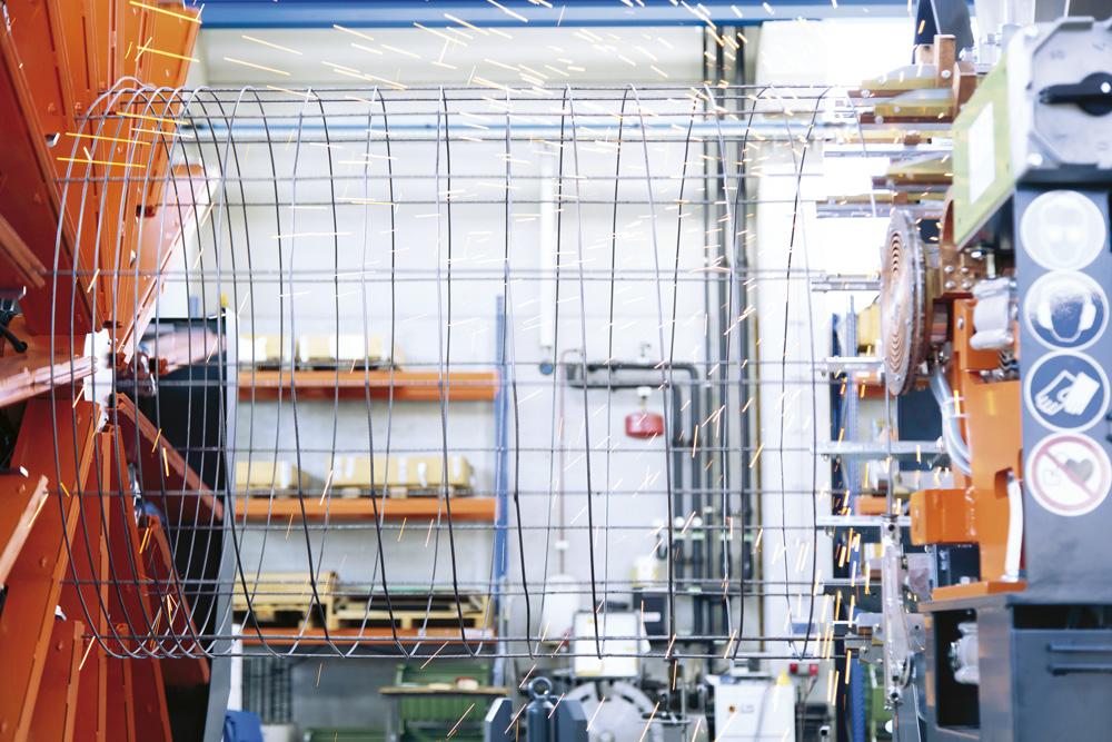 mbk Maschinenbau GmbH ESM Korbschweißmaschine Detail