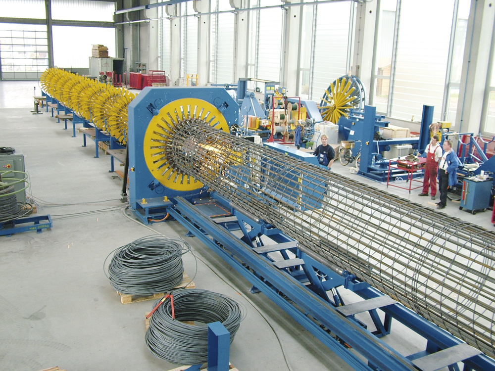mbk Maschinenbau GmbH LSM Korbschweißmaschine