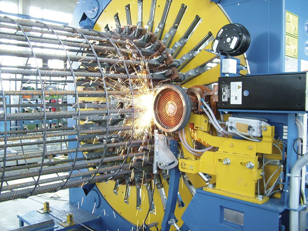 mbk Maschinenbau GmbH LSM Korbschweißmaschine Detail