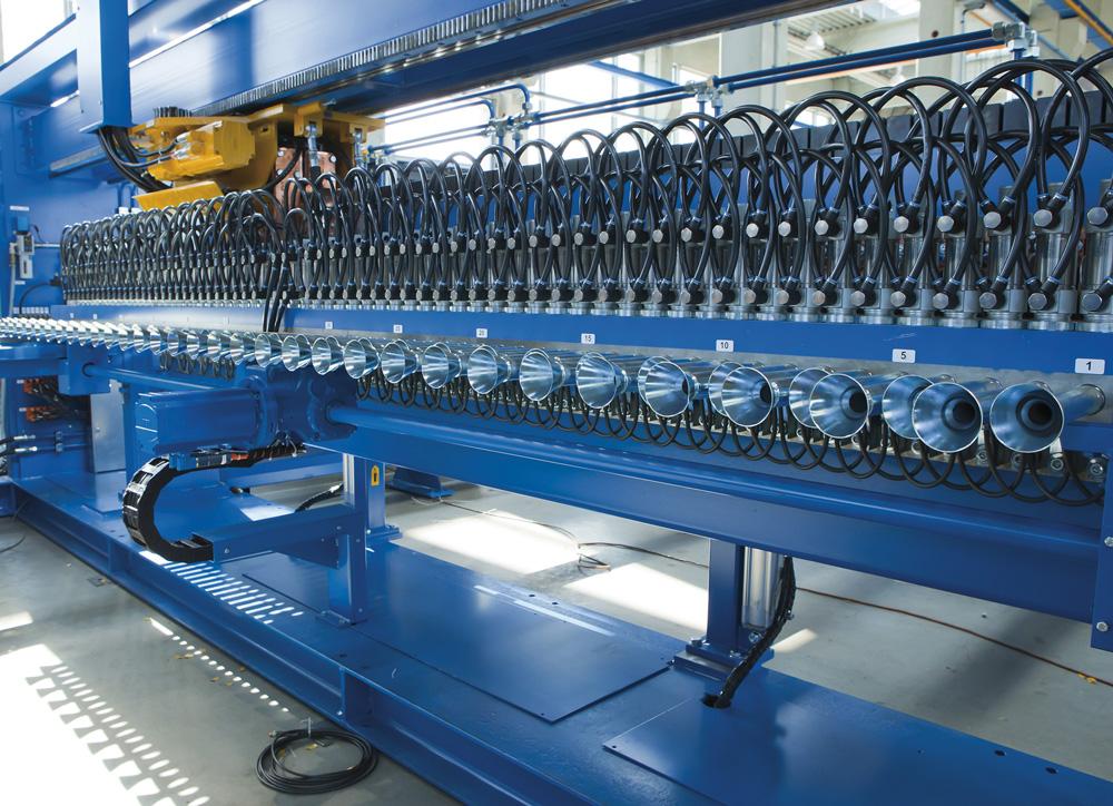 mbk Maschinenbau GmbH MSM-B Mattenschweißmaschine