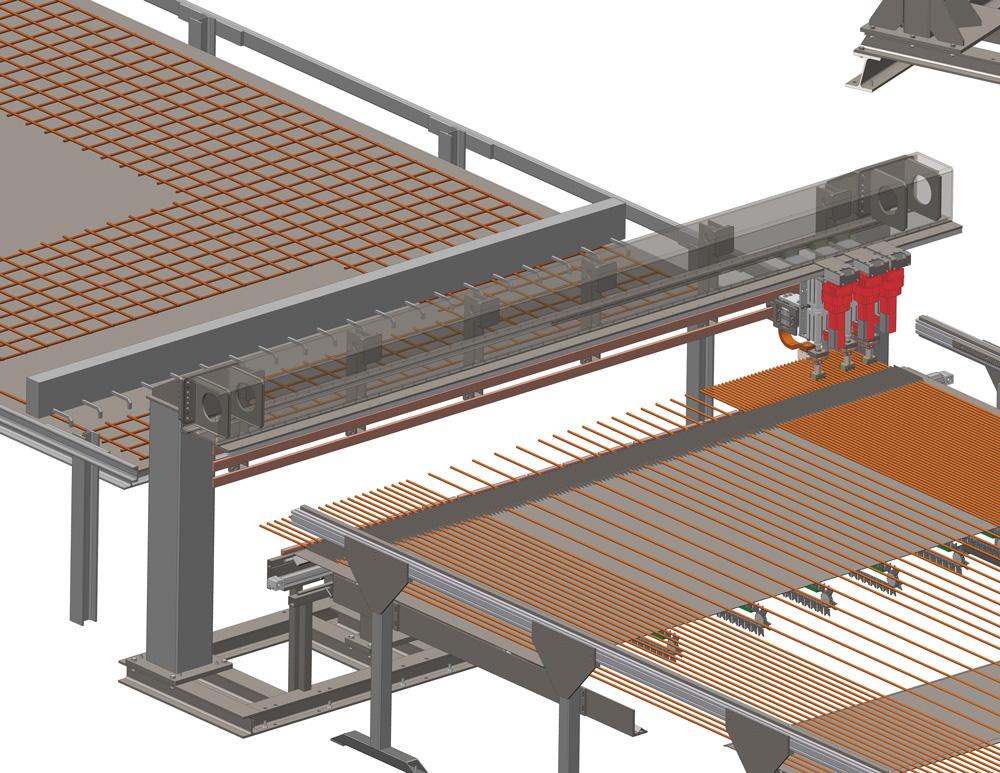 mbk Maschinenbau GmbH MSM-M Mattenschweißmaschine Grafik