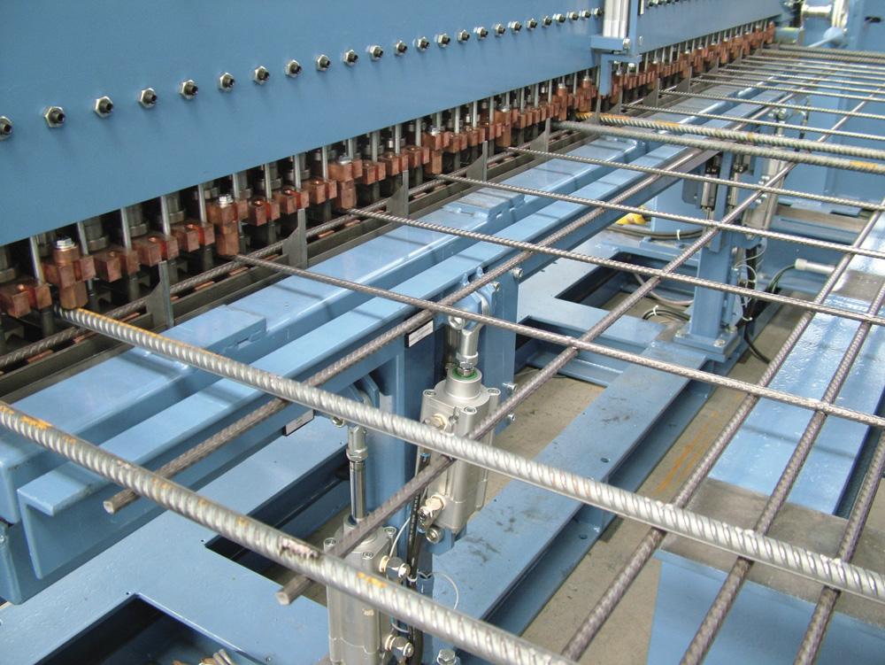 mbk Maschinenbau GmbH MSM-M Mattenschweißmaschine Matte