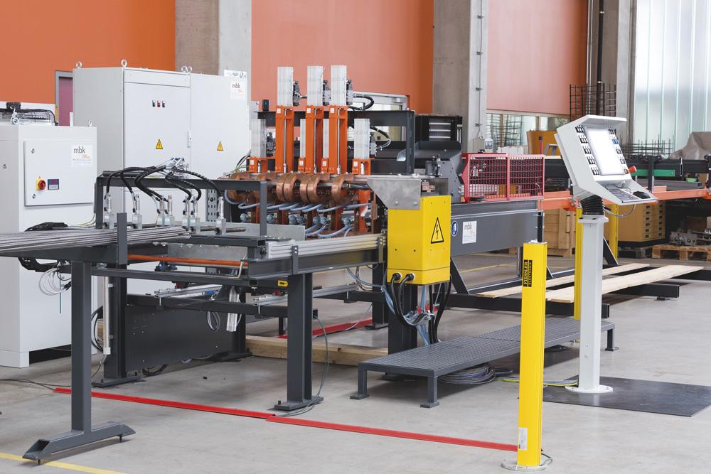 mbk Maschinenbau GmbH MSM-S Mattenschweißmaschine