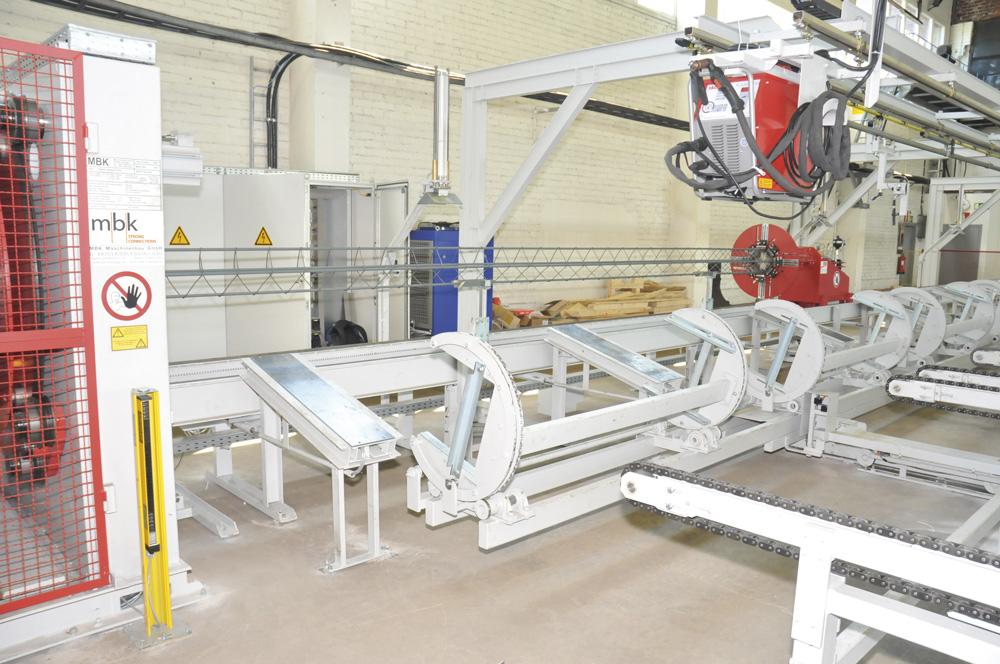 mbk Maschinenbau GmbH RSM/VSM Korbschweißmaschine