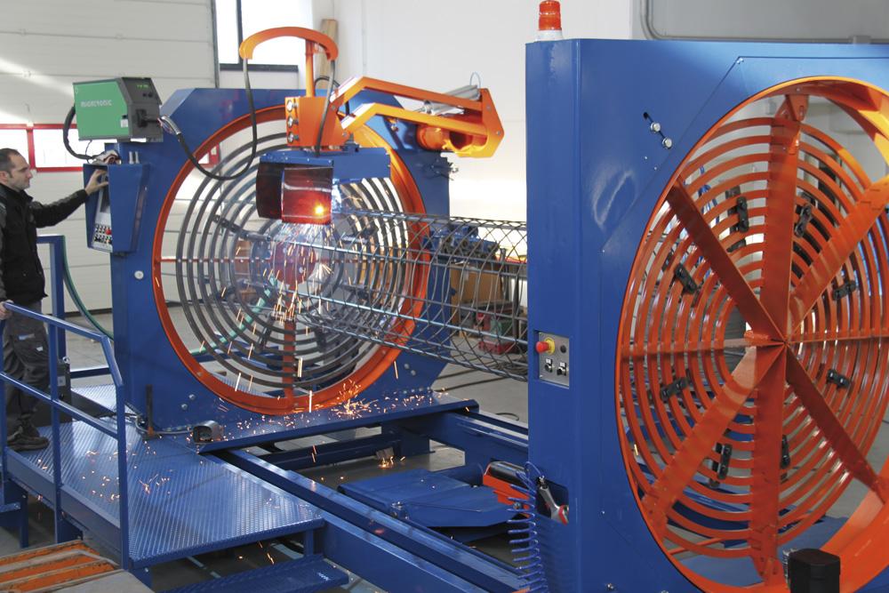 mbk Maschinenbau GmbH SSM Korbschweißmaschine