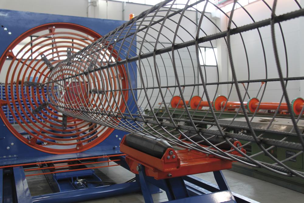 mbk Maschinenbau GmbH SSM Korbschweißmaschine Detail