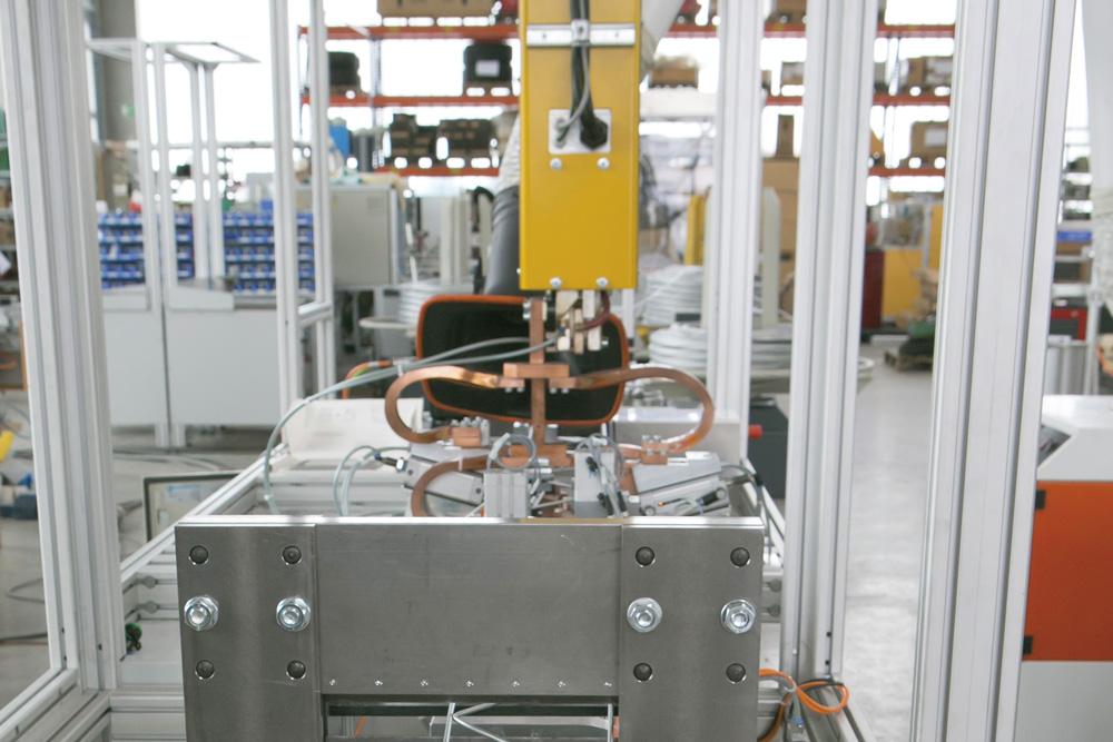mbk Maschinenbau GmbH TSM Gitterträgerschweißmaschine