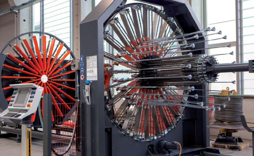 Korbschweißmaschine von mbk in Kisslegg zur bauma 2016