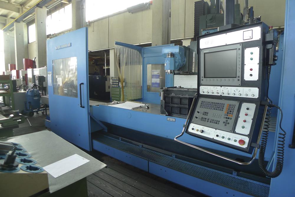 Lohnfertigung bei mbk Maschinenbau GmbH
