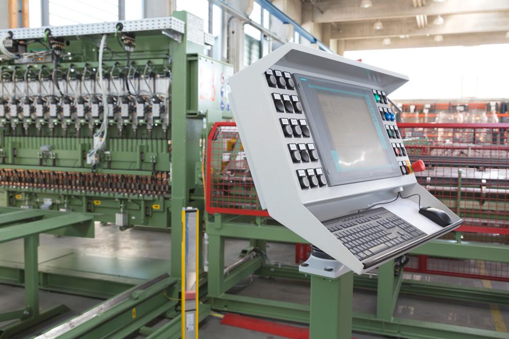 mbk Maschinenbau GmbH Bedienterminal für MSM B-Linie