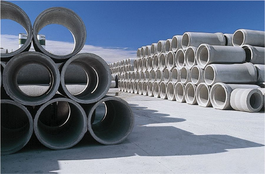 concrete pipes mbk italy