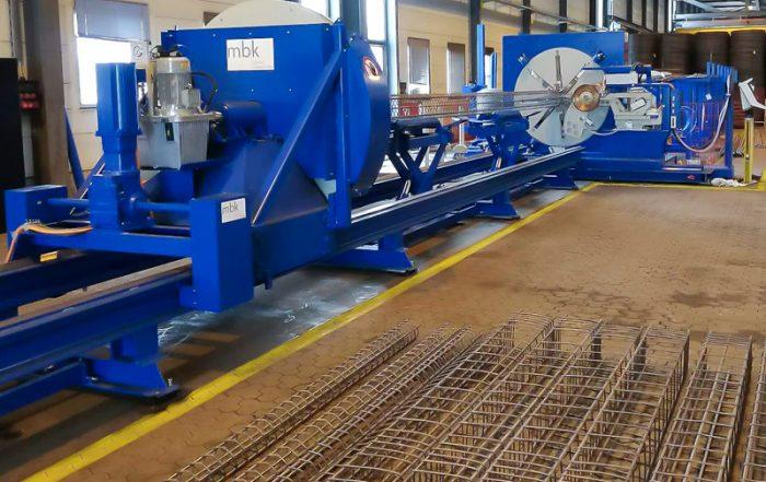 mbk LSM 084 S cage welding machine